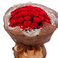 붉은장미꽃다발